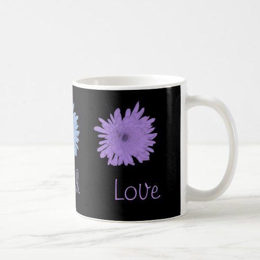 Pastel Coloful Chrysanthemums Mugs