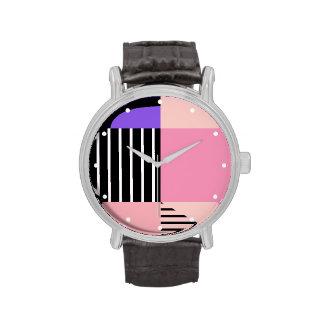 Pastel Color-Bloqueado Reloj De Mano