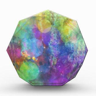 Pastel Color Circles Award