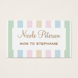 Pastel Color Mommy Card