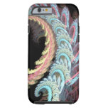 Pastel Color Paisley Fractal Art Design Gifts Tough iPhone 6 Case