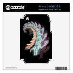 Pastel Color Paisley Fractal Art Design Gifts Skins For iPhone 3G