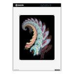 Pastel Color Paisley Fractal Art Design Gifts iPad Skin