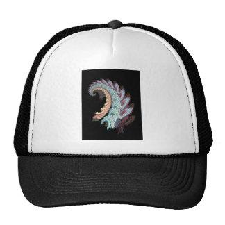 Pastel Color Paisley Fractal Art Design Gifts Trucker Hat
