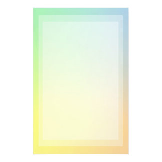 Pastel Color Study Stationery