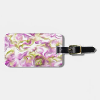 Pastel Color Swirled Pattern Tag For Luggage