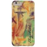 Pastel Colored Abstract Pattern #5 Barely There iPhone 6 Plus Case