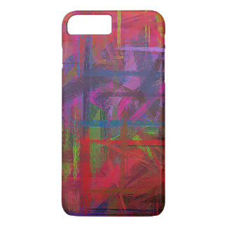 Pastel Colored Abstract Pattern #9 iPhone 7 Plus Case
