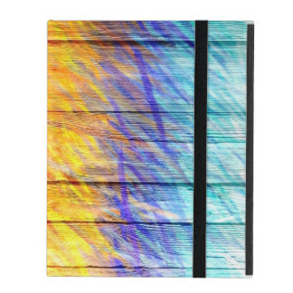 Pastel Colored on Wood #11 iPad Cover