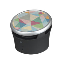 Pastel Colorful Modern Abstract Geometric Pattern Bluetooth Speaker