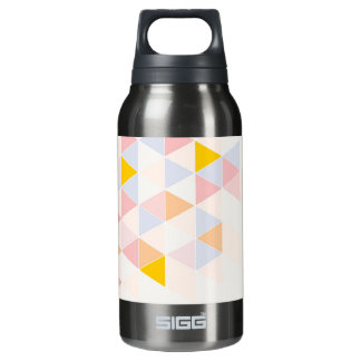 Pastel colorful modern surface design background insulated water bottle