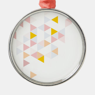 Pastel colorful modern surface design background christmas tree ornaments