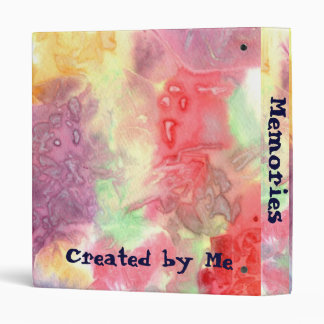 Pastel colorful watercolour background image binders