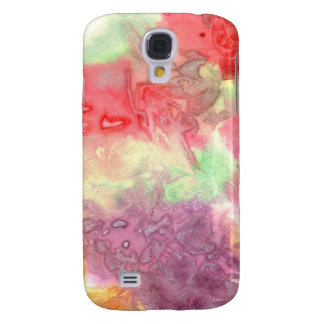 Pastel colorful watercolour background image galaxy s4 cases