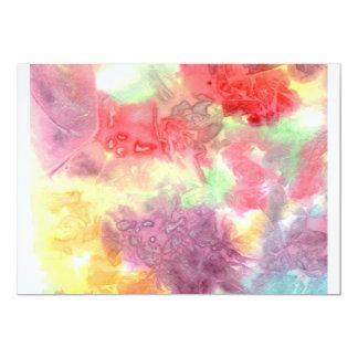 Pastel colorful watercolour background image invites