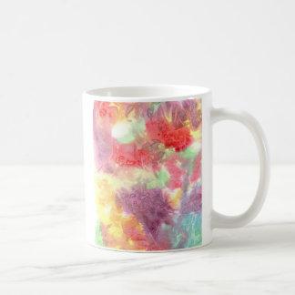 Pastel colorful watercolour background image mugs