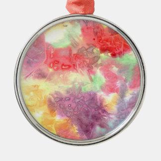 Pastel colorful watercolour background image ornament