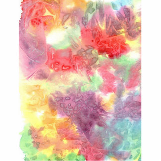 Pastel colorful watercolour background image photo cut outs