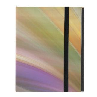 Pastel Colors Abstract iPad Folio Case