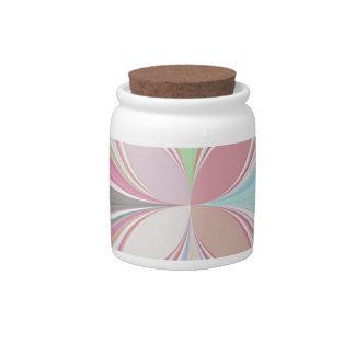 Pastel Colors Candy Jars