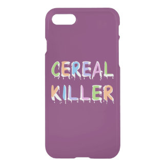 Pastel Colors Cereal Killer Pun iPhone 7 Case
