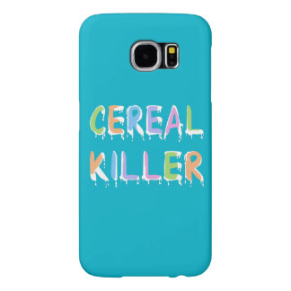 Pastel Colors Cereal Killer Pun Samsung Galaxy S6 Case