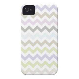 Pastel Colors Chevron Pattern iPhone 4/4s iPhone 4 Covers