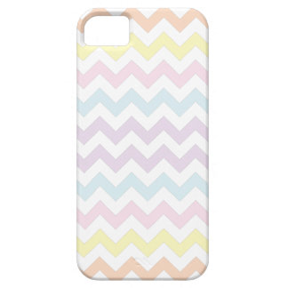 Pastel Colors Chevron Pattern iPhone 5 iPhone 5 Covers