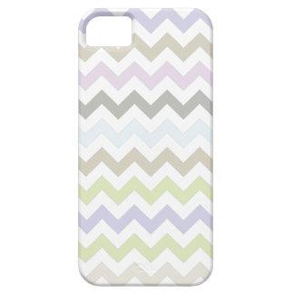 Pastel Colors Chevron Pattern iPhone 5 iPhone SE/5/5s Case