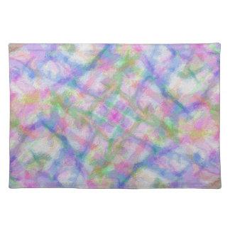Pastel Colors Cloth Placemat