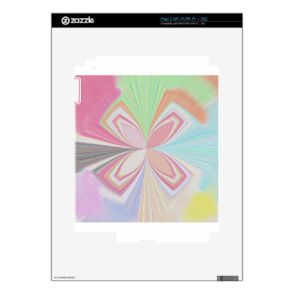 Pastel Colors Decals For The iPad 2