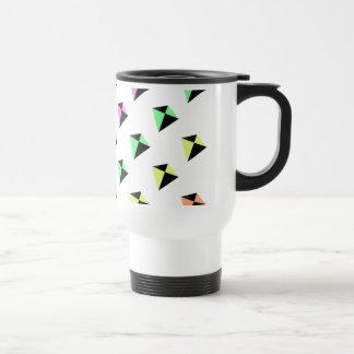 Pastel Colors Kite Pattern Travel Mug