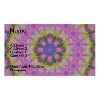 Pastel Colors Mandala Business Card
