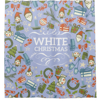 Christmas Character Shower Curtains | Zazzle