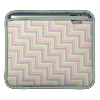 Pastel Colors Zigzag iPad Sleeve
