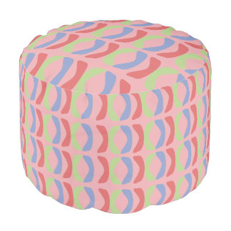 Pastel Communication Pouf