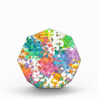 Pastel Confetti Hearts Award