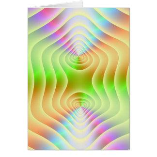 Pastel Contours Card
