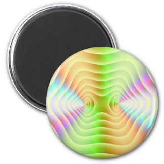 Pastel Contours Magnet