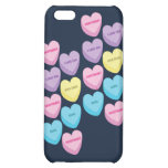 Pastel Conversation Hearts iPhone 5C Covers
