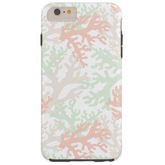Pastel Corals on White