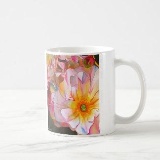 Pastel Cornelia Rose watercolor art painting Coffee Mug