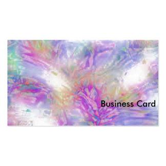 Pastel Crackle Standard Business Cards