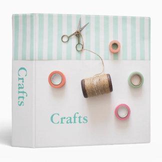 Pastel Craft Design Binder