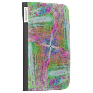 Pastel Crayon Kindle Covers