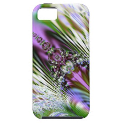 Pastel Crystal Fractal iPhone 5 Case