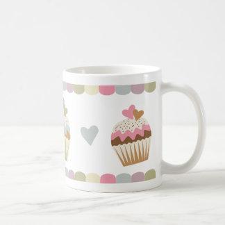 Pastel Cupcakes Classic White Coffee Mug