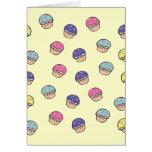 Pastel Cupcakes Pattern Card