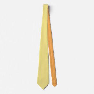 Pastel custard yellow decor ready to customize tie