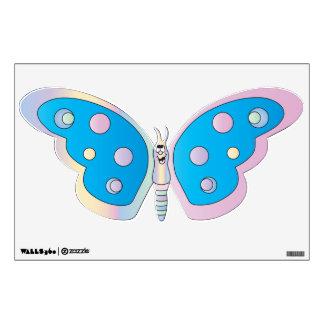 Pastel Cute Cartoon Butterfly Wall Sticker